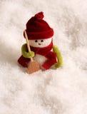 χιονάνθρωπος χιονιού Στοκ Εικόνες