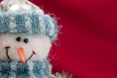 χιονάνθρωπος Χριστουγέν&n Στοκ Εικόνες