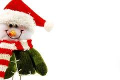 χιονάνθρωπος Χριστουγέν&n Στοκ Εικόνα