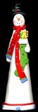 χιονάνθρωπος Στοκ εικόνα με δικαίωμα ελεύθερης χρήσης