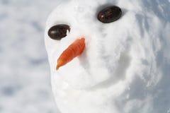 χιονάνθρωπος Στοκ εικόνες με δικαίωμα ελεύθερης χρήσης