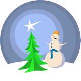 Χιονάνθρωπος Στοκ Φωτογραφία