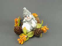 χιονάνθρωπος Στοκ φωτογραφία με δικαίωμα ελεύθερης χρήσης