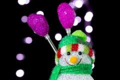 Χιονάνθρωπος Chistmas στοκ φωτογραφία
