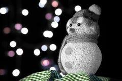 Χιονάνθρωπος Chistmas στοκ φωτογραφία με δικαίωμα ελεύθερης χρήσης