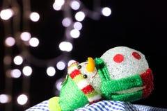 Χιονάνθρωπος Chistmas στοκ φωτογραφίες με δικαίωμα ελεύθερης χρήσης