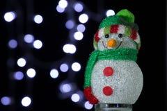 Χιονάνθρωπος Chrismas στοκ εικόνα με δικαίωμα ελεύθερης χρήσης