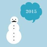 Χιονάνθρωπος Hipster Στοκ φωτογραφίες με δικαίωμα ελεύθερης χρήσης