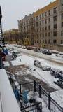 Χιονίζοντας ημέρα Στοκ φωτογραφίες με δικαίωμα ελεύθερης χρήσης