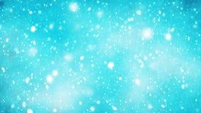 Χιονίζοντας υπόβαθρο Χριστουγέννων χειμερινών χωρών των θαυμάτων ελεύθερη απεικόνιση δικαιώματος