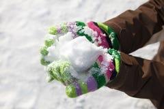 χιονιά Στοκ φωτογραφία με δικαίωμα ελεύθερης χρήσης