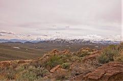 Χιονισμένα βουνά της Νεβάδας στοκ φωτογραφία με δικαίωμα ελεύθερης χρήσης