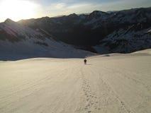 Χιονισμένη σειρά αλκών, δύσκολα βουνά του Κολοράντο στοκ φωτογραφία με δικαίωμα ελεύθερης χρήσης