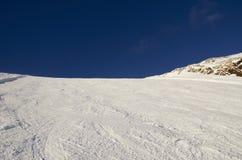 Χιονοδρομικό κέντρο Γαλλία Espace Killy Στοκ εικόνες με δικαίωμα ελεύθερης χρήσης