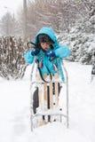 χιονοθύελλας Στοκ Εικόνες