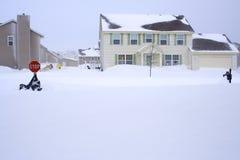 χιονοθύελλα Στοκ φωτογραφίες με δικαίωμα ελεύθερης χρήσης