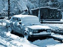 χιονοθύελλα Στοκ εικόνα με δικαίωμα ελεύθερης χρήσης