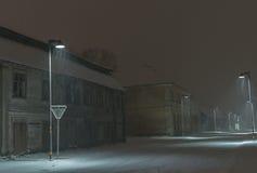 Χιονοθύελλα Στοκ εικόνες με δικαίωμα ελεύθερης χρήσης