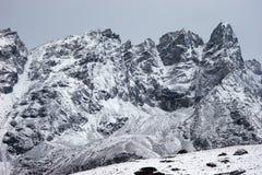 χιονοπτώσεις του Νεπάλ &beta στοκ εικόνες