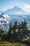 Χιονοσκεπής τοποθετήστε Baker, κορυφογραμμή βουνοχιονοκοτών, πολιτεία της Washington Cascad στοκ εικόνα με δικαίωμα ελεύθερης χρήσης