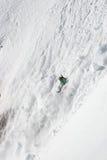 χιονοστιβάδα ελεύθερη Στοκ Εικόνες