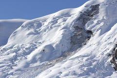 Χιονοστιβάδα άνοιξη Στοκ Εικόνες