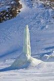 Χιονοδρομικό κέντρο βουνών - Ίνσμπρουκ Αυστρία Στοκ εικόνα με δικαίωμα ελεύθερης χρήσης
