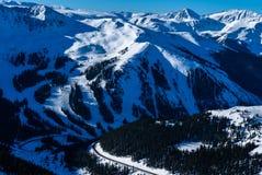 Χιονοδρομικό κέντρο λεκανών Arapahoe Στοκ φωτογραφία με δικαίωμα ελεύθερης χρήσης