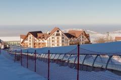 Χιονοδρομικό κέντρο στο Καζακστάν Στοκ φωτογραφίες με δικαίωμα ελεύθερης χρήσης