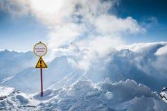 Χιονοδρομικό κέντρο Elbrus Καύκασος, Ρωσική Ομοσπονδία στοκ φωτογραφία