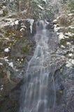 χιονώδης καταρράκτης Στοκ φωτογραφία με δικαίωμα ελεύθερης χρήσης