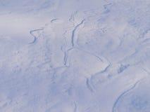 χιονώδης χειμώνας ανασκόπησης Στοκ Εικόνες