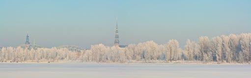χιονώδης χειμώνας Στοκ Εικόνες