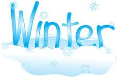Χιονώδης χειμώνας ελεύθερη απεικόνιση δικαιώματος