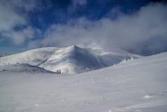 Χιονώδεις κλίσεις στοκ φωτογραφία