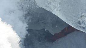 Χιονώδης είσοδος Στοκ φωτογραφία με δικαίωμα ελεύθερης χρήσης