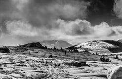 χιονώδης ημέρα Στοκ φωτογραφία με δικαίωμα ελεύθερης χρήσης