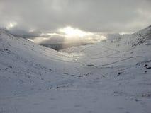 Χιονώδης καταρρίπτει Στοκ εικόνα με δικαίωμα ελεύθερης χρήσης