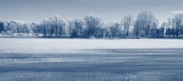Χιονώδης ποταμός Στοκ Εικόνα