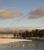 Χιονώδης ποταμός Payette Στοκ φωτογραφία με δικαίωμα ελεύθερης χρήσης