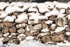 Χιονώδης σύσταση τοίχων πετρών στοκ εικόνα με δικαίωμα ελεύθερης χρήσης
