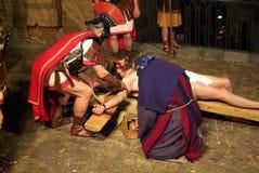 ΧΙΧ έκδοση Antignano μέσω Crucis (AT) - νόμος ενιαίο το 2007 Στοκ φωτογραφίες με δικαίωμα ελεύθερης χρήσης