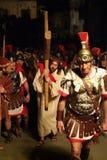 ΧΙΧ έκδοση Antignano μέσω Crucis (AT) - νόμος ενιαίο το 2007 Στοκ Φωτογραφίες