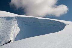 χιόνια βουνών Στοκ Εικόνα