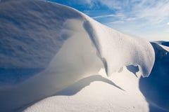 χιόνι αμμόλοφων τάφρων Στοκ Εικόνες