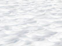 χιόνι αμμόλοφων Στοκ εικόνες με δικαίωμα ελεύθερης χρήσης