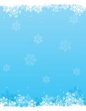 χιόνι ανασκόπησης Στοκ Φωτογραφία