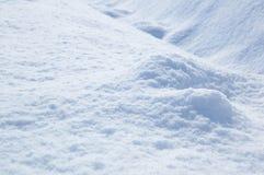 χιόνι ανασκόπησης Στοκ Φωτογραφίες