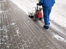 χιόνι ανεμιστήρων Στοκ Εικόνα
