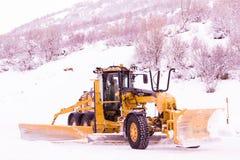 χιόνι αρότρων Στοκ Εικόνα